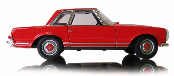 METALOWY MODEL 1963 Mercedes-Benz 230SL AUTO Welly 1:24