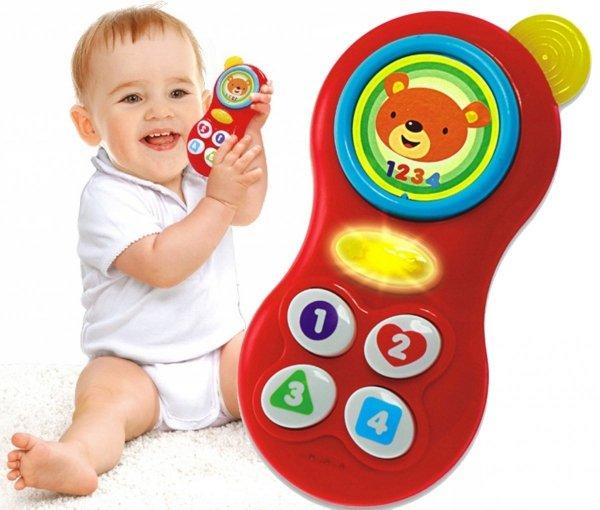 Telefon PAN MISIEK Gryzak ŚWIECI Smily Play 0638