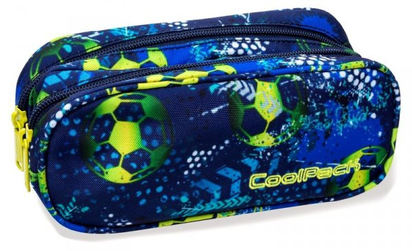 CoolPack Plecak Prime Football Blue  B25037 Saszetka 2w1