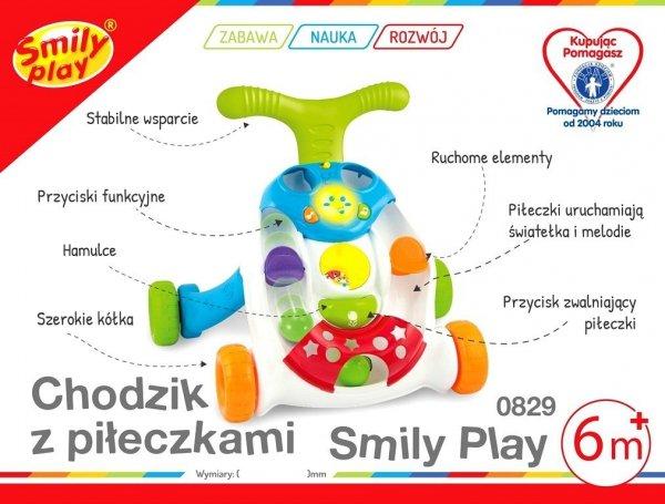 INTERAKTWNY Chodzik z PIŁECZKAMI Smily Play 000829