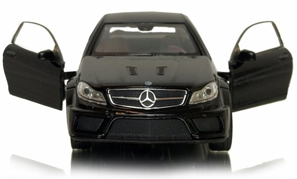 MERCEDES-BENZ C 63 AMG Coupe Metalowy 1:34 Welly