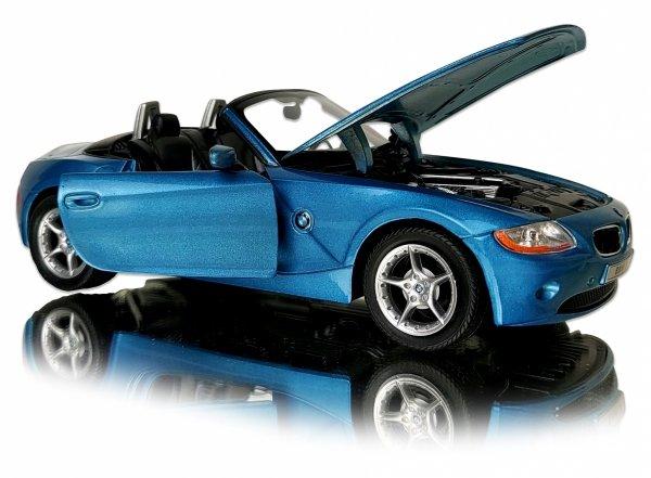 BMW Z4 Duży METALOWY MODEL AUTO Welly 1:24