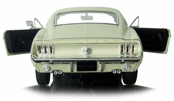 1967 FORD MUSTANG GT Auto METALOWY MODEL Welly 1:24