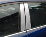 KIA SPORTAGE III od 2010 Nakładki na słupki drzwi (aluminium) [ 4szt ]