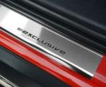 VW TIGUAN od 2007 Nakładki progowe STANDARD połysk 4szt