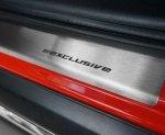 MERCEDES B W245 2005-2012 Nakładki progowe STANDARD mat 4szt