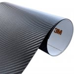 Folia Carbon Czarny 3M CA421 122x400cm