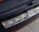 BMW X1 FL od 2013 Nakładka na zderzak TRAPEZ Satin
