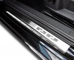 VW POLO IV 5D HATCHBACK 2001-2009 Nakładki progowe - stal [ 4szt ]