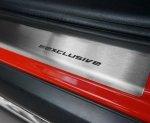 BMW X6 I E71 2008-2014 Nakładki progowe STANDARD mat 4szt