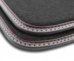 F3G04000 Dywaniki welurowe Premium FORD Fiesta VI 2008-2012 owalne stopery