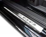 VW GOLF VI 3D HATCHBACK 2008-2012 Nakładki progowe - stal [ 4szt ]
