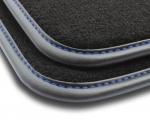 F2G00000 Dywaniki welurowe Premium SKODA OCTAVIA II 2008-2012 4 stopery