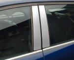 MAZDA MAZDA 6 III KOMBI od 2013 Nakładki na słupki drzwi (aluminium) [ 6szt ]