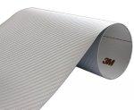 Folia Carbon Srebrny 3M CA418 122x80cm
