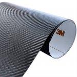 Folia Carbon Czarny 3M CA421 10x20cm