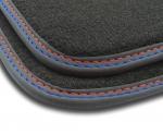 F3H02000 Dywaniki welurowe Premium SKODA OCTAVIA II 2008-2012 4 stopery
