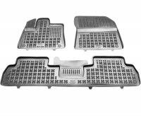 Dywaniki korytka gumowe do Citroen Berlingo III / Opel Combo E / Peugeot Rifter od 2018 wersja 5 osobowa
