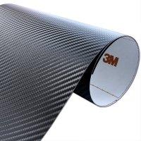 Folia Carbon Czarny 3M CA421 122x10cm