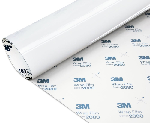 Folia Biały Połysk 3M G10 2080 152x200cm