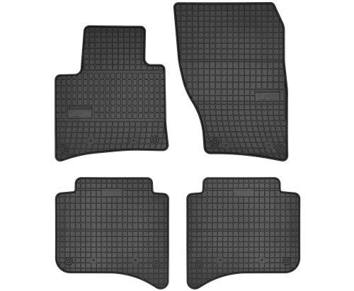 Dywaniki gumowe czarne PORSCHE Cayenne II od 2010 | VW Touareg II od 2010