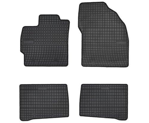 Dywaniki gumowe czarne TOYOTA Prius II od 2010