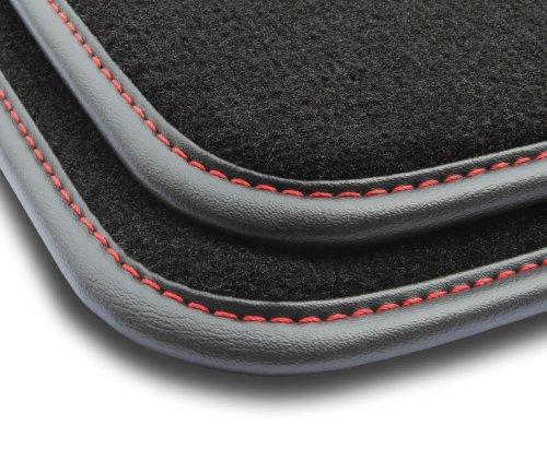 F3G00000 Dywaniki welurowe Premium FORD Fiesta VI 2008-2012 owalne stopery