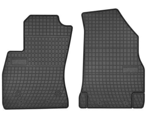 Dywaniki gumowe czarne FIAT Doblo II od 2008 | OPEL Combo D od 2011 wersja 2-osobowa