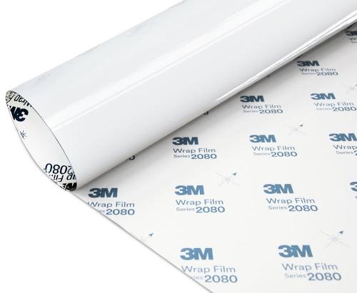 Folia Biały Połysk 3M G10 2080 152x350cm