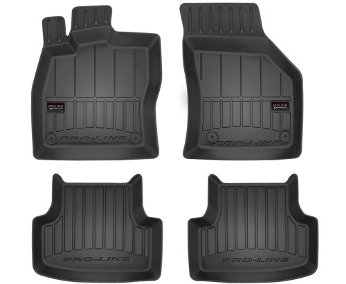 Dywaniki gumowe 3D do Seat Leon III od 2012 / Vw Golf VII 2012-2019 / T-Roc od 2017