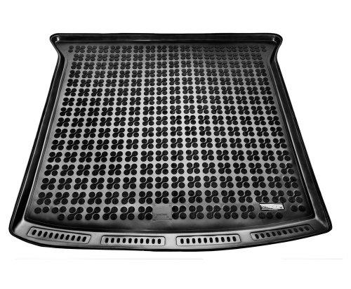 Mata Bagażnika Gumowa Seat Alhambra / Sharan od 2010 wersja 7-siedzeń (złożony 3 rząd siedzeń)