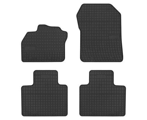 Dywaniki gumowe czarne RENAULT ZOE od 2012-2016
