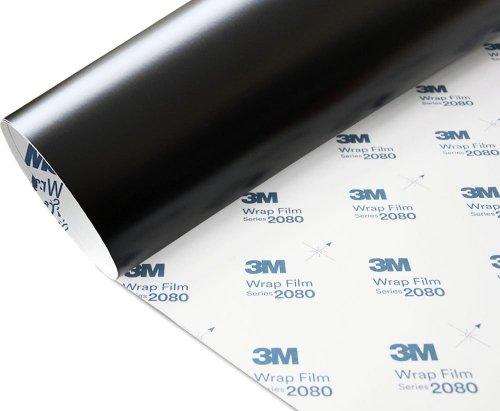 Folia Czarny Mat Satyna 3M S12 2080 152x500cm