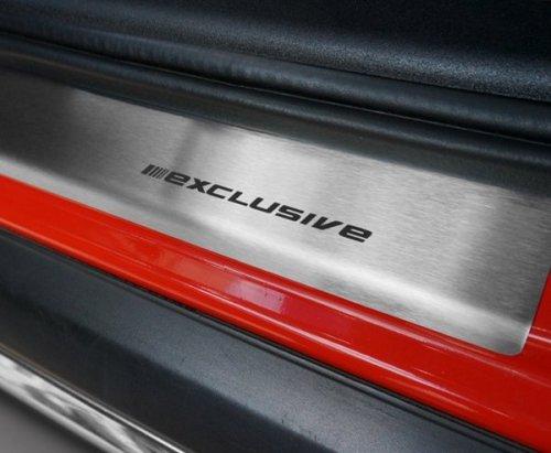 FIAT 500L od 2013 Nakładki progowe STANDARD mat 4szt