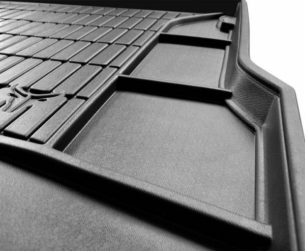 Mata bagażnika gumowa MITSUBISHI Lancer VIII Sportback 2007-2016 górna podłoga bagażnika, z kołem dojazdowym (niepełnowymiarowe), z subwoofer