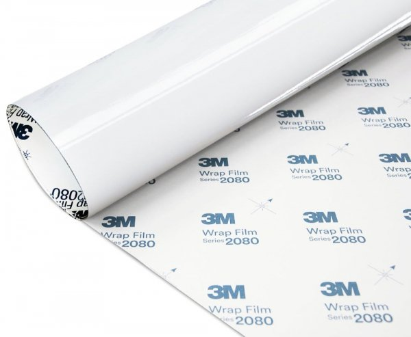Folia Biały Połysk 3M G10 2080 152x60cm