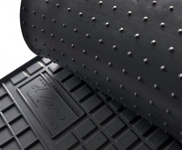 Dywaniki gumowe czarne FORD Turneo Custom 2012-2017 3 rząd siedzeń