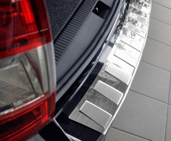 BMW X5 F15 od 2013 Nakładka na zderzak TRAPEZ Satin
