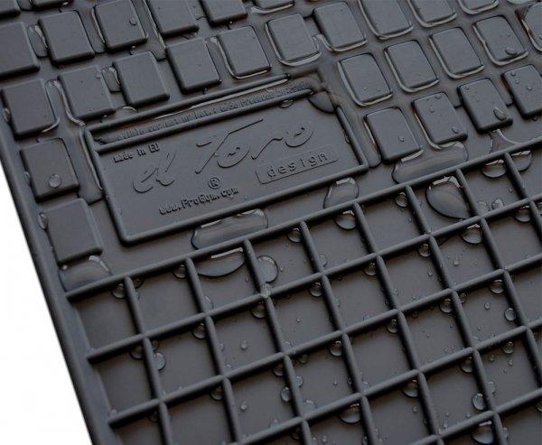 Dywaniki gumowe czarne FORD Ka + od 2016