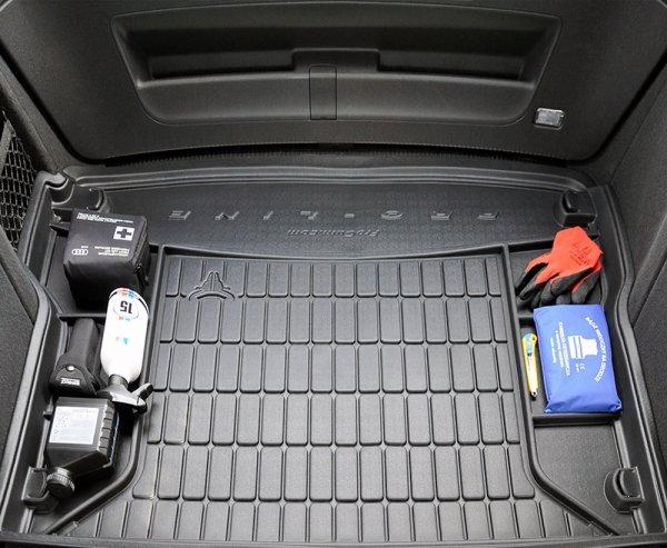 Mata bagażnika gumowa SKODA Kodiaq od 2016 wersja 7 osobowa ( ostatni rząd siedzeń złożony )