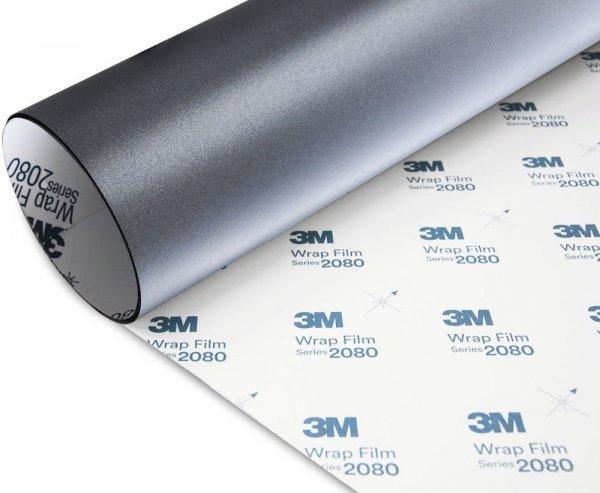 Folia Szary Mat Metallic 3M M261 2080 152x110cm