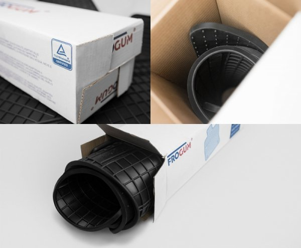 Dywaniki gumowe czarne OPEL Astra F 1991-2002