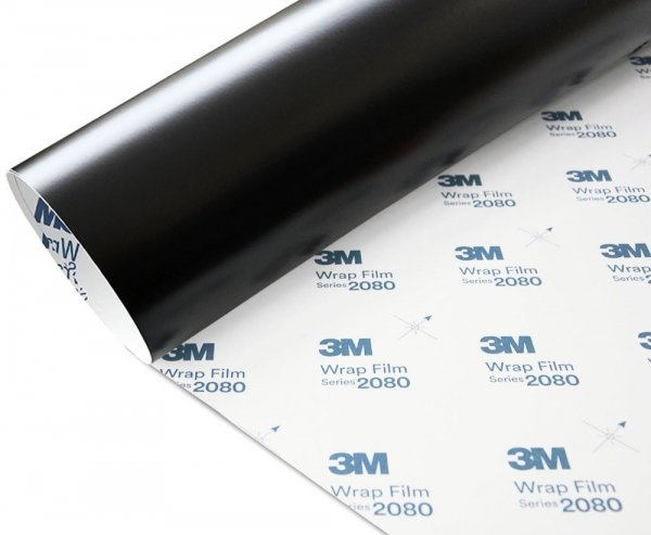 Folia Czarny Mat 3M M12 2080 152x40cm