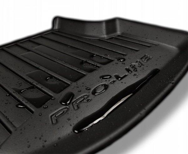 Dywaniki gumowe 3D do MERCEDES GL X164 2006-2012 wersja 7 osobowa (1 i 2 rząd siedzeń)