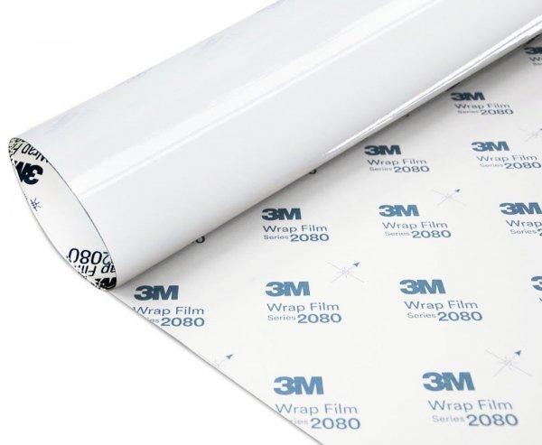 Folia Biały Połysk 3M G10 2080 152x400cm
