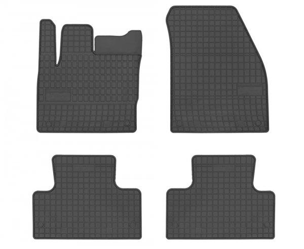 Dywaniki gumowe czarne Range Rover Evoque od 2011