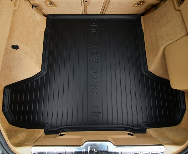 Mata bagażnika VOLVO S60 II Sedan 2010-2018 z zestawem naprawczym koła, wersja z bocznymi wnękami