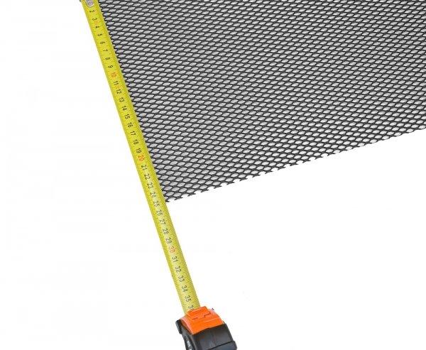 Siatka tuningowa Czarna 8mm x 3,5mm 100cm x 25cm