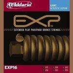 D'Addario EXP16 - EXP Coated Phosphor Bronze 12-53