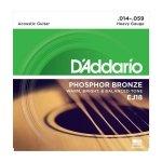 D'Addario EJ18 - Phosphor Bronze 14-59